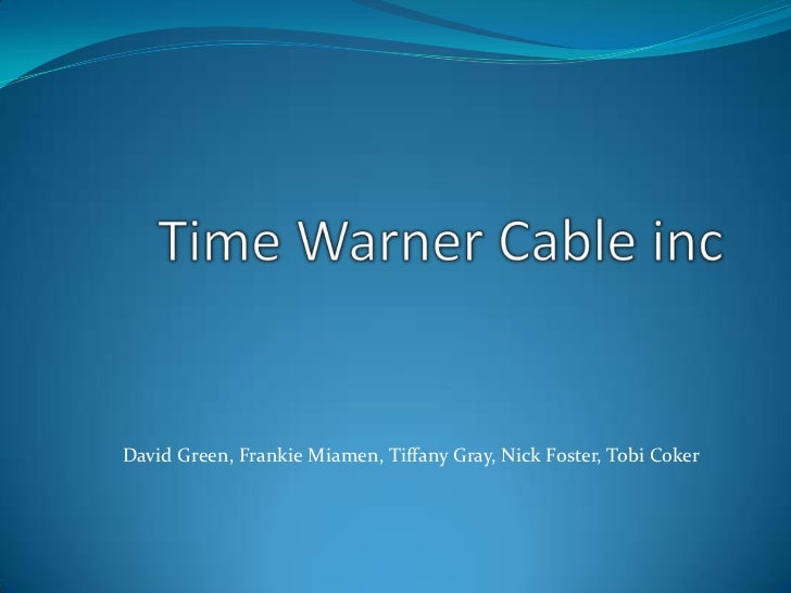 Time Warner Cable Industry/Competitive Analysis