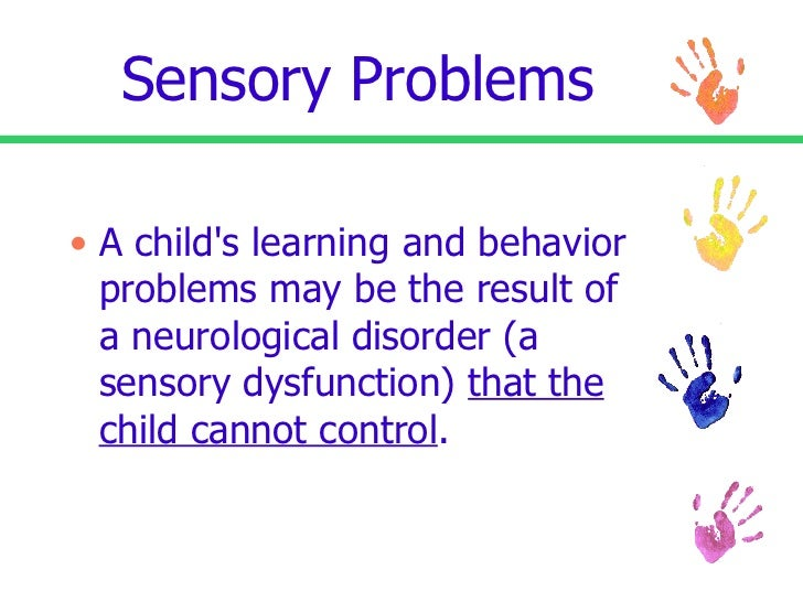 Sensory Processing Disorder Powerpoint