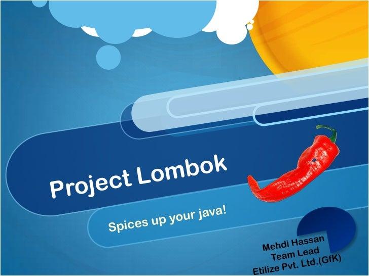 Project Lombok!
