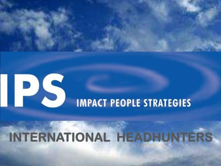 INTERNATIONAL HEADHUNTERS