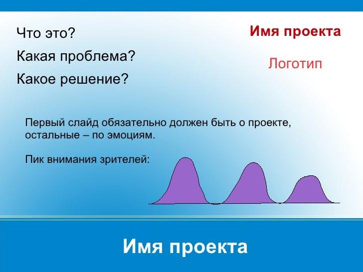 Шаблон презентации стартапа инвесторам