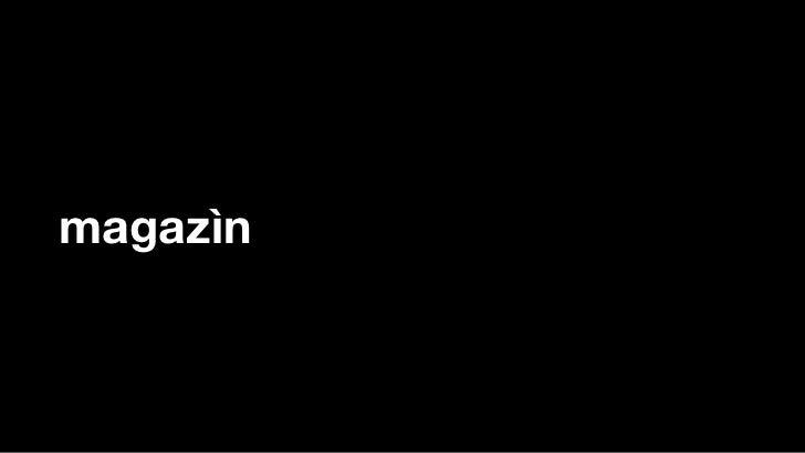 magazìn
