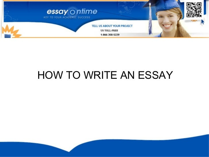 Write Essay Quickly