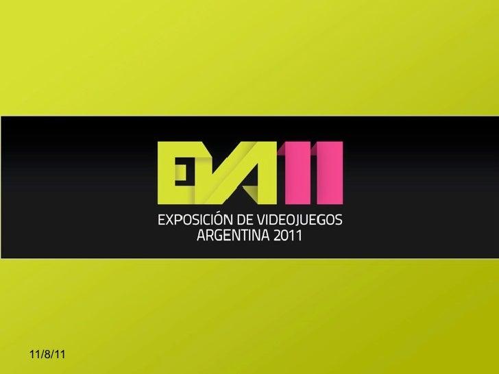 EVA 2011 - Desarrollo de Videojuegos con HTML5, CSS3 and JavaScript