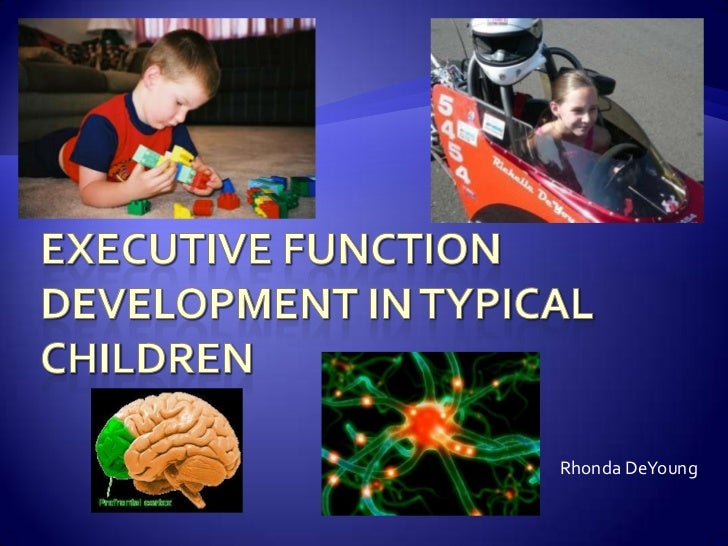 Executive Function in Typical Children