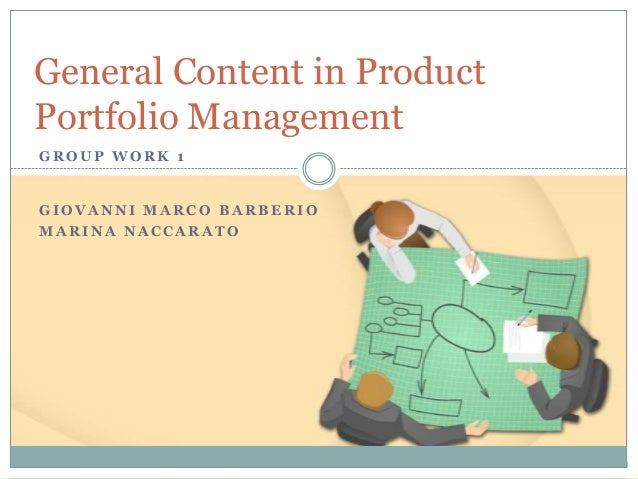 Product Portfolio Management