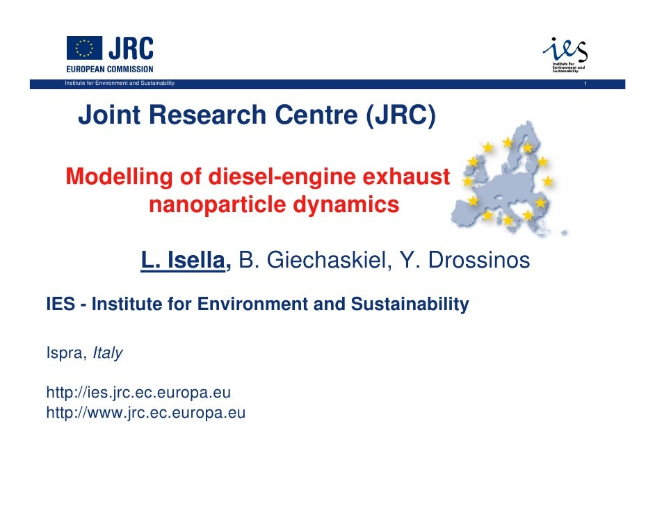 Talk given in at the Joint Research Centre, Ispra, Italy, December 2009.