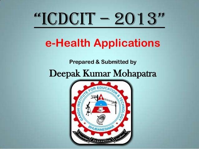 e-Health Applications