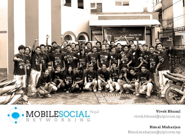 Mobile Social networking Nepal