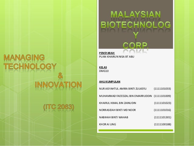 Semester 5 - Biotechnology Corporation