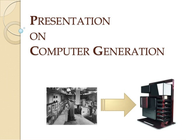 Second Generation Computers Computer Generation