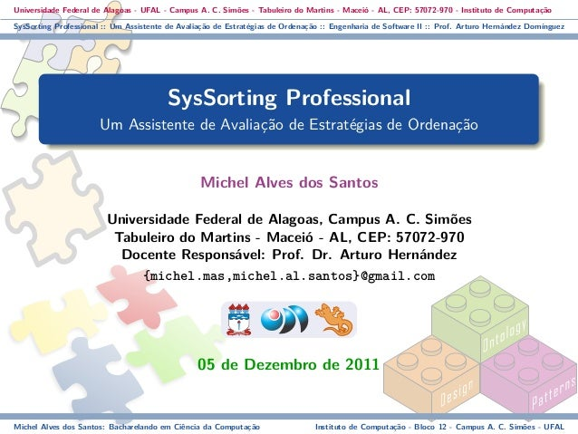 SysSorting Professional - Presentation