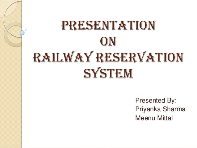 Dfd For Railway Reservation System Pdf Railway Reservation System