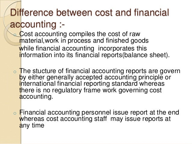 Difference Between Accounting and Finance
