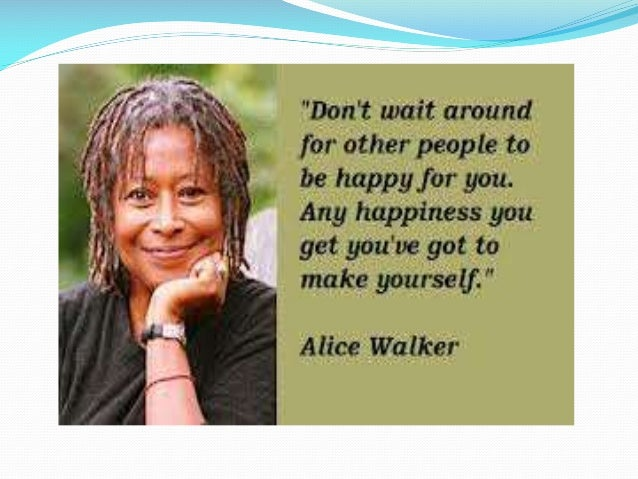 What is Alice Walkers overall writing style?