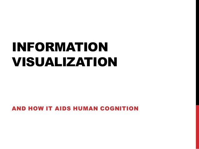 INFORMATION VISUALIZATION  AND HOW IT AIDS HUMAN COGNITION
