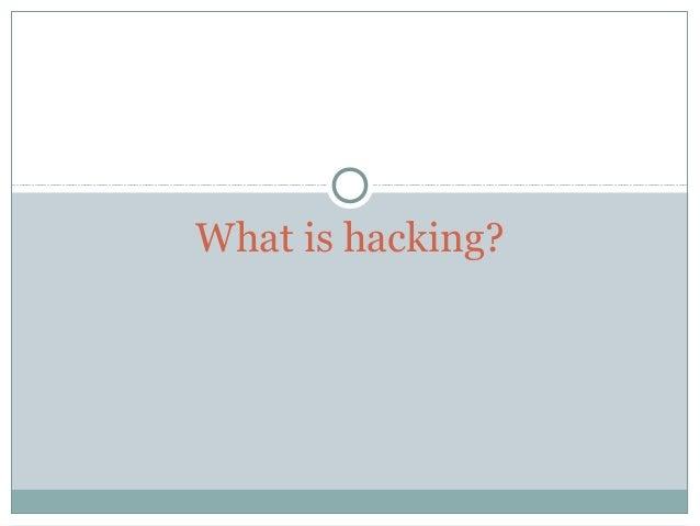 Basic Introduction to hacking