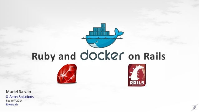 Ruby and Docker on Rails