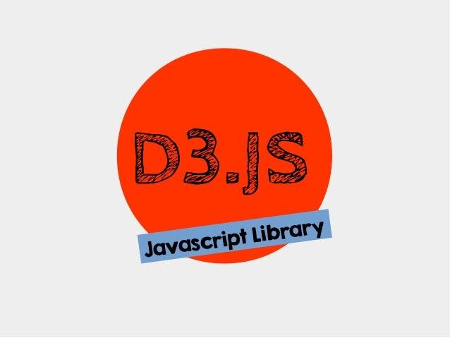 D3.JS ibrary script L Java