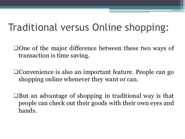 the benefits and disadvantages of online shopping essay