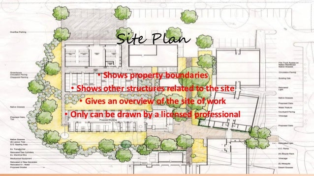 Pics For Architectural Site Plan Drawing