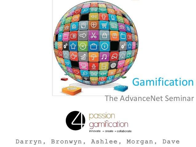 Passion4Gamification AdvancednetGroup Seminar
