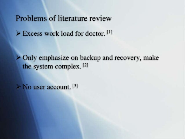 review of related literature of library management system
