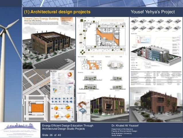 Energy Efficient Design Education Through Architectural