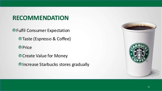 """recommendations for starbucks csr According to hammers (2003), the top two reasons why people work for starbucks: """"people have the opportunity to work with an enthusiastic team"""" """"to work in a."""