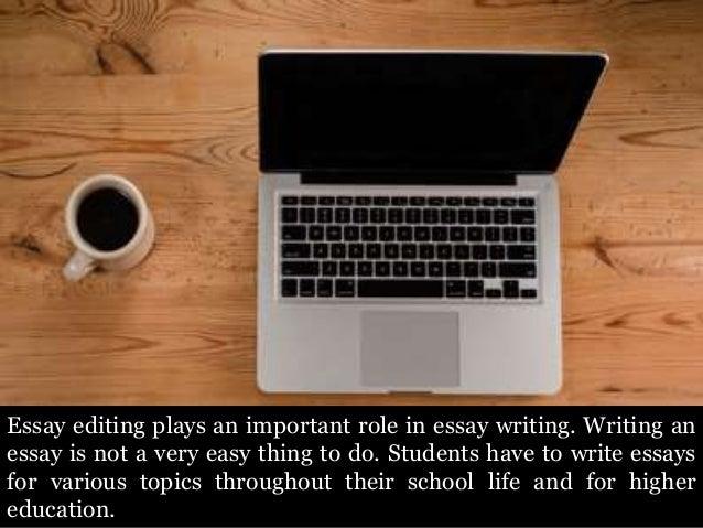 Is my essay error-free?