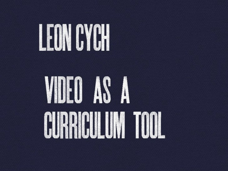 Using video in Schools