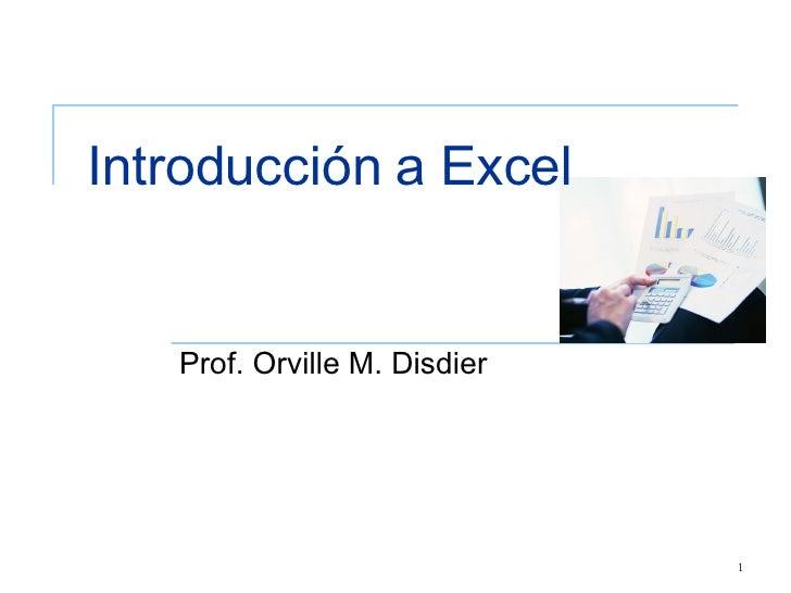 Introduccion a las estadisticas utilizanto Excel