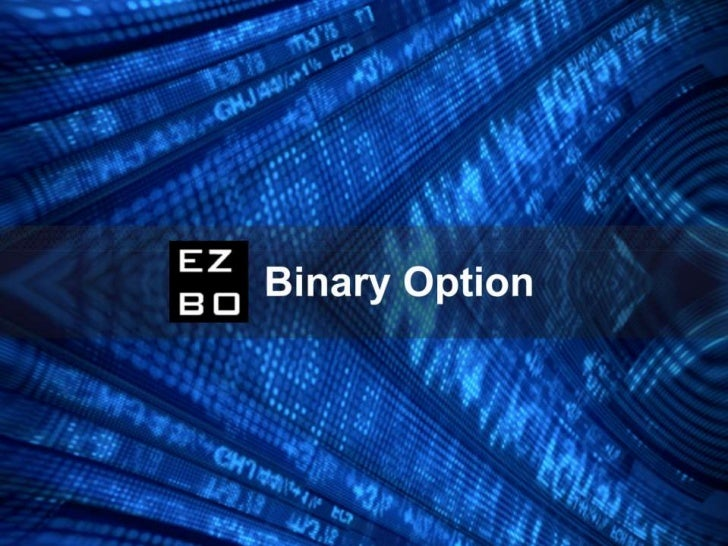 What Is A Binary Option?A Binary Option is a simple investment, simpler than most other kinds of market investments.When i...