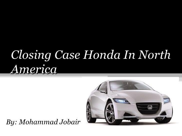 Presentation About Honda