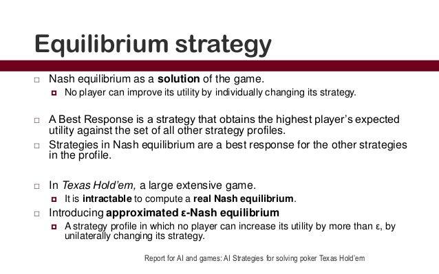 Nash Equilibrium Poker Example Hangover Blackjack Gif
