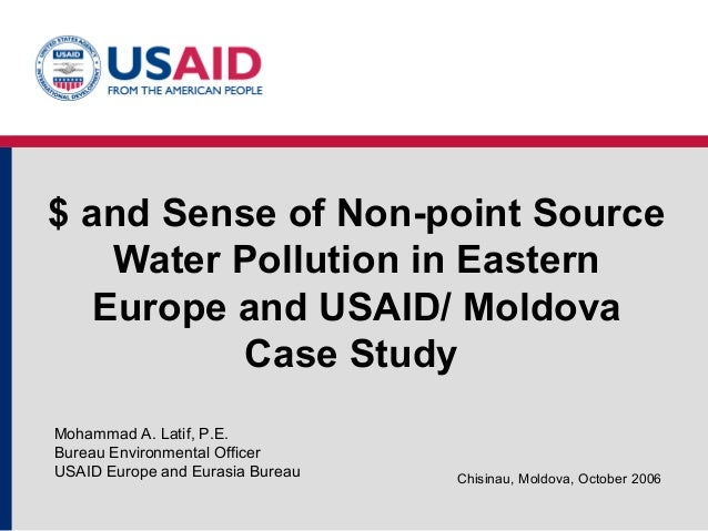 An analysis of the topic of the water pollution in europe