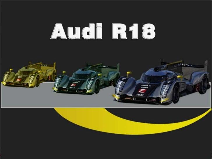 Audi R18 Fan Page