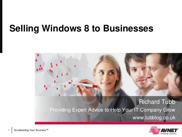 Selling Windows 8 to Businesses