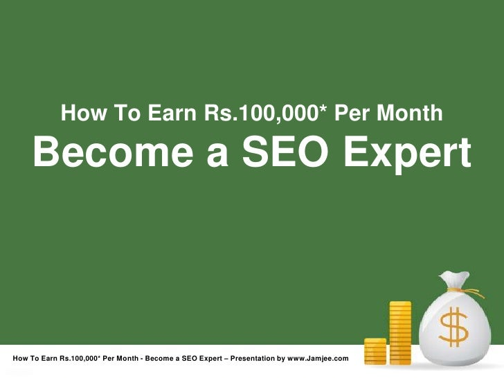Become a SEO Expert