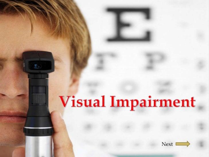 Presentation blindness