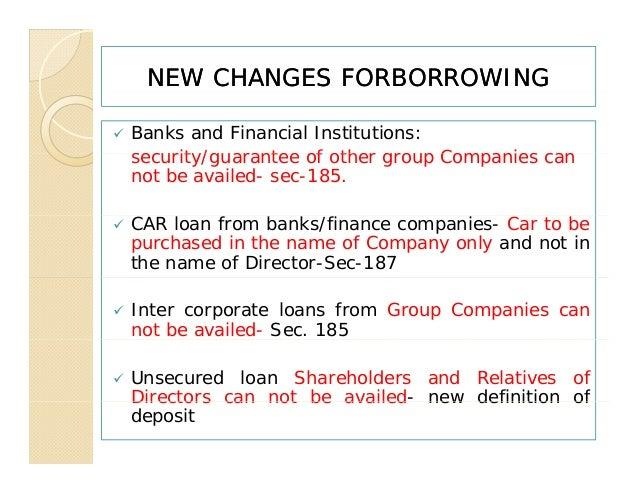 Presentation borrowing and lending-ca 2013