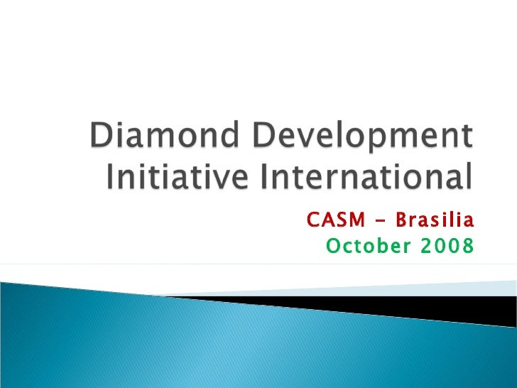 Diamond Development Initiative (DDI)