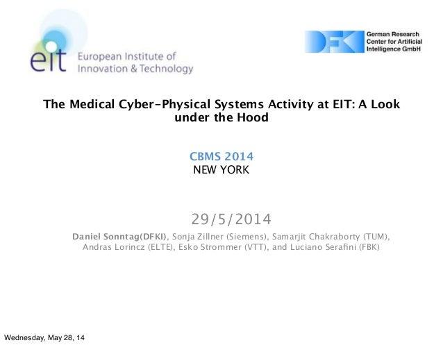 Presentation CBMS 2014, Mount Sinai, NY