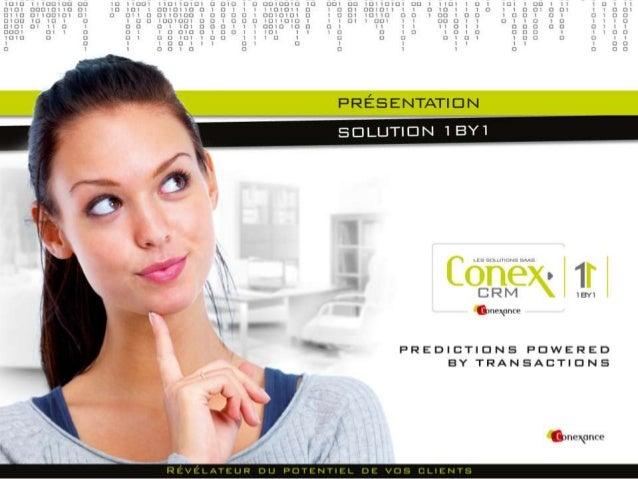 [ Déf ] Conex 1by1 = solution de trigger marketingmulticanal permettant de créer du CA additionnel[ Pourquoi ? ] Augmenter...