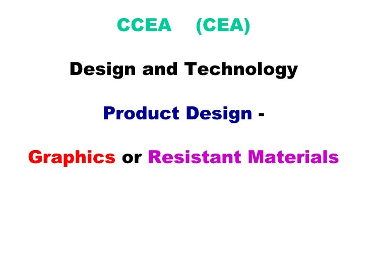 gcse design and technology coursework