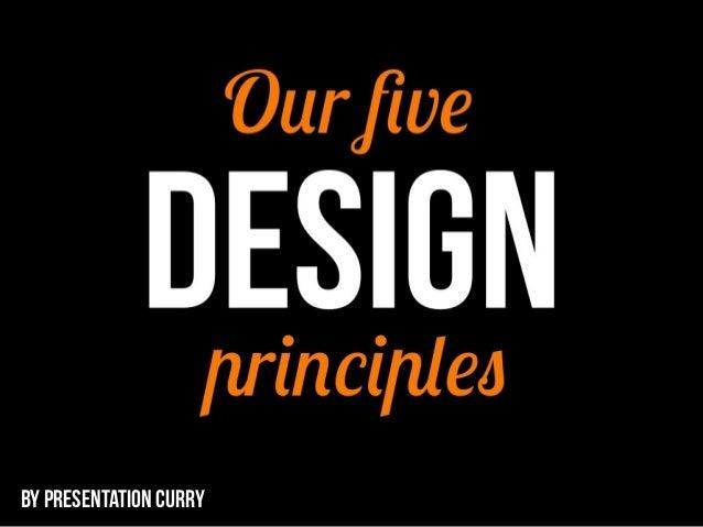 5 design principles