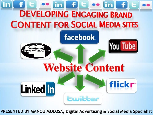 Website ContentPRESENTED BY MANOU MOLOSA, Digital Advertising & Social Media Specialist