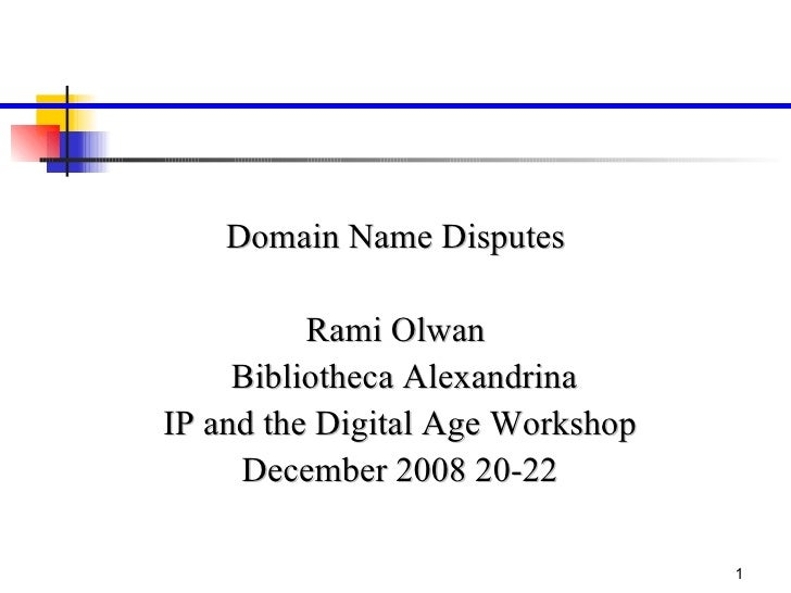 Presentation Domian Names Eqypt (Final)