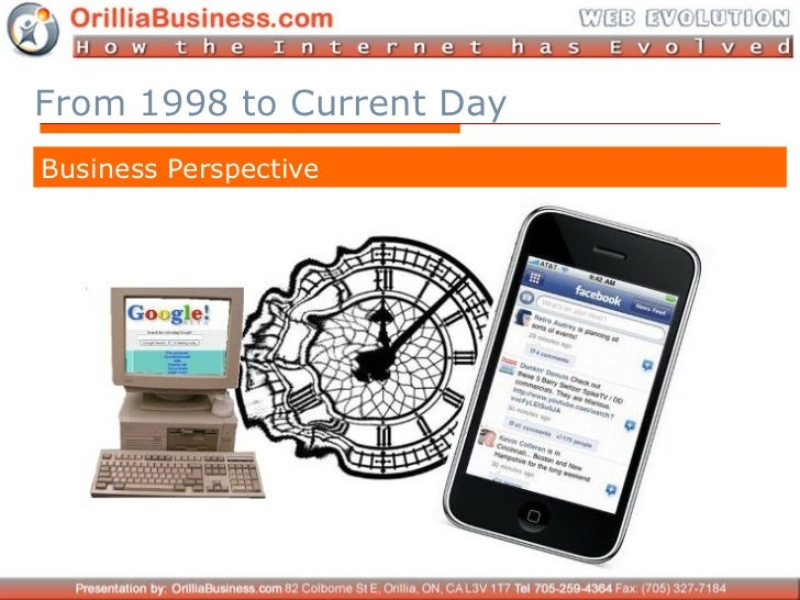 Internet Evolution 1998-2011