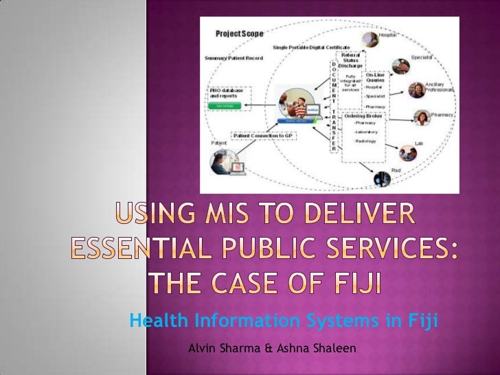 Health Information Systems in Fiji      Alvin Sharma & Ashna Shaleen